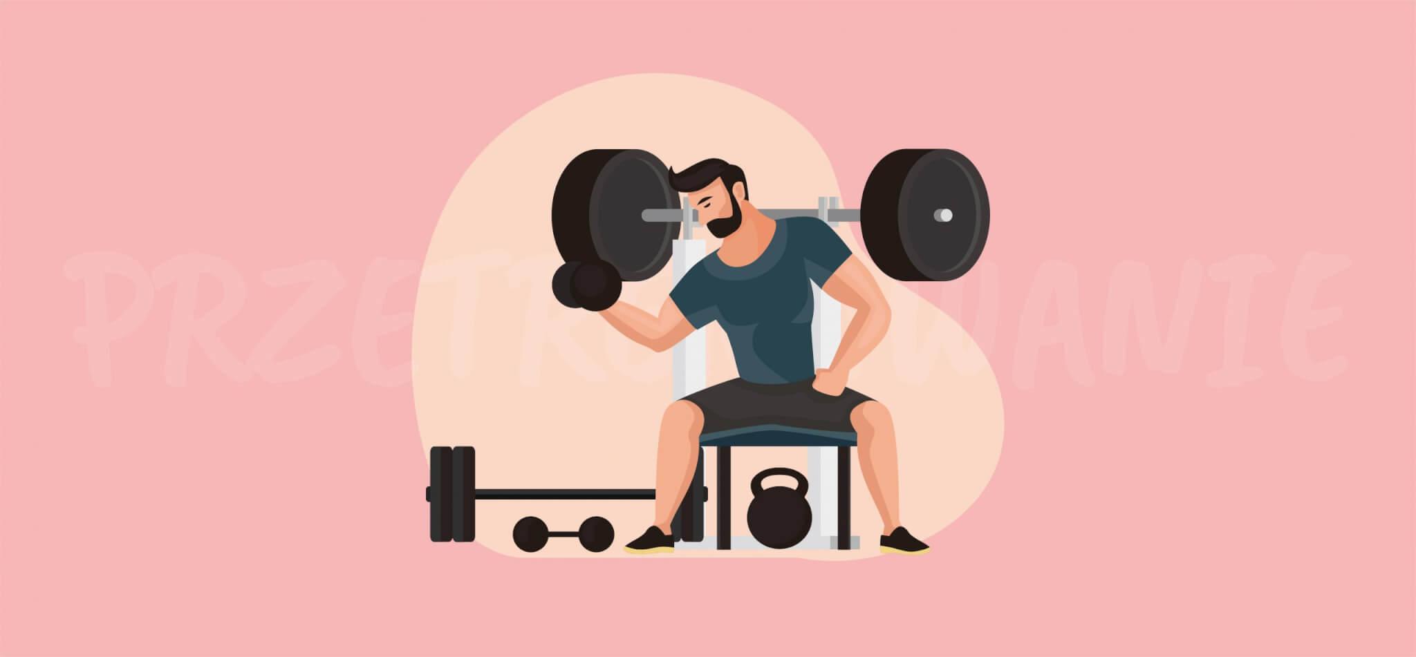 Zdjęcie do: Czy można przetrenować mięśnie?