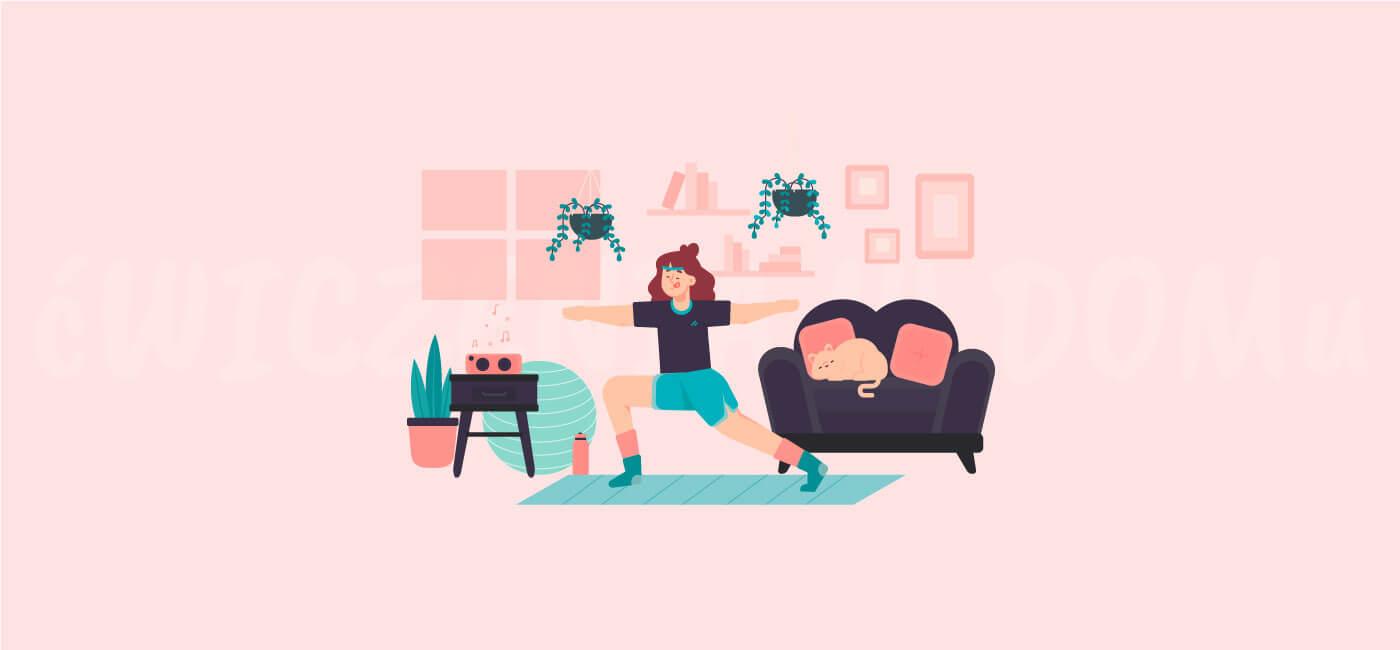Zdjęcie do: Ćwiczenia w domu – wszystko, co należy wiedzieć